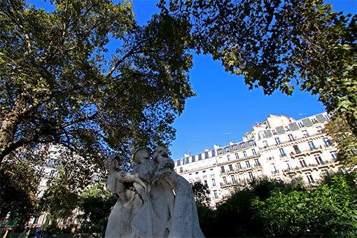 モンソロン公園 彫像