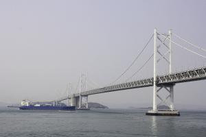 瀬戸大橋と東山魁夷美術館1