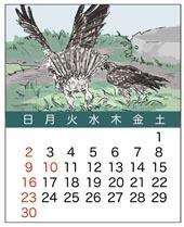 カレンダー6月