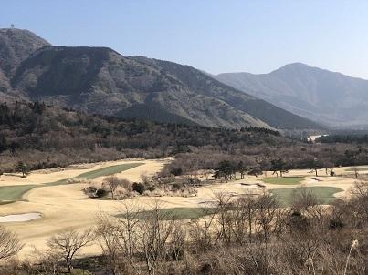 箱根カントリーと金時山