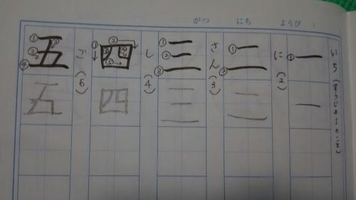 あかり漢字練習