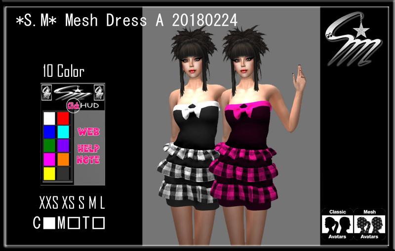 Mesh Dress A 20180224