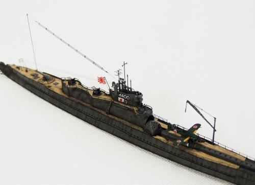 伊-400 6966-1-2◆模型製作工房 聖蹟