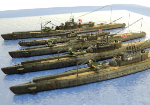 日本海軍 潜水艦7549-1-2◆模型製作工房 聖蹟