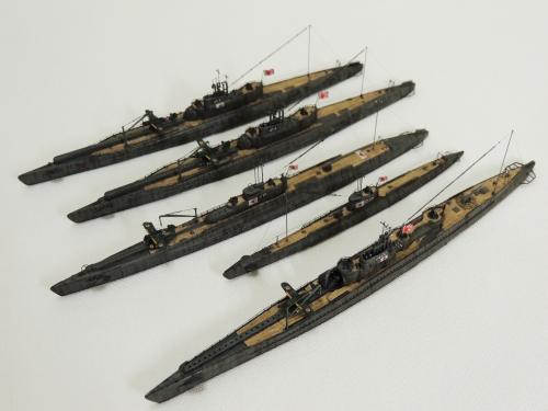 日本海軍 潜水艦7591-1◆模型製作工房 聖蹟