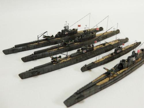 日本海軍 潜水艦7602-1◆模型製作工房 聖蹟