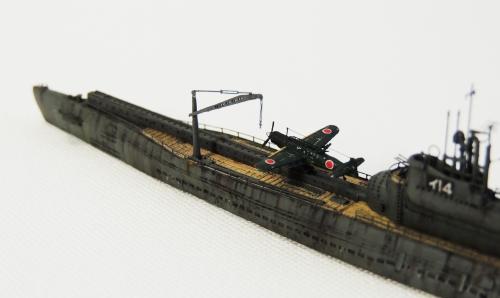 伊ー14 彩雲DSCN9693-1-2◆模型製作工房 聖蹟