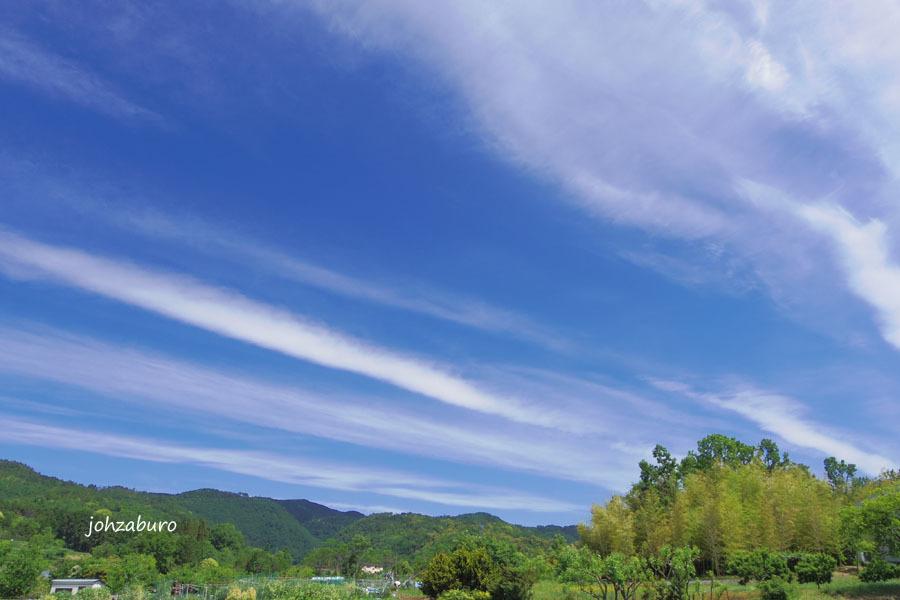 刷毛引きの雲