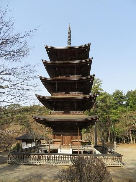 福泉寺 五重塔