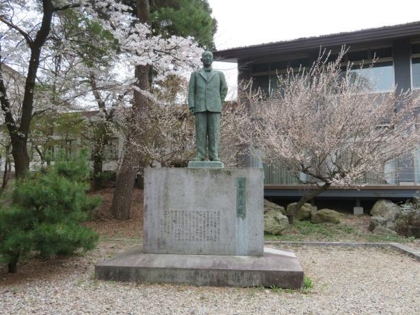 米内光政銅像