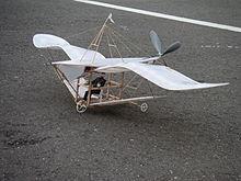 玉虫型飛行器の復元RC模型