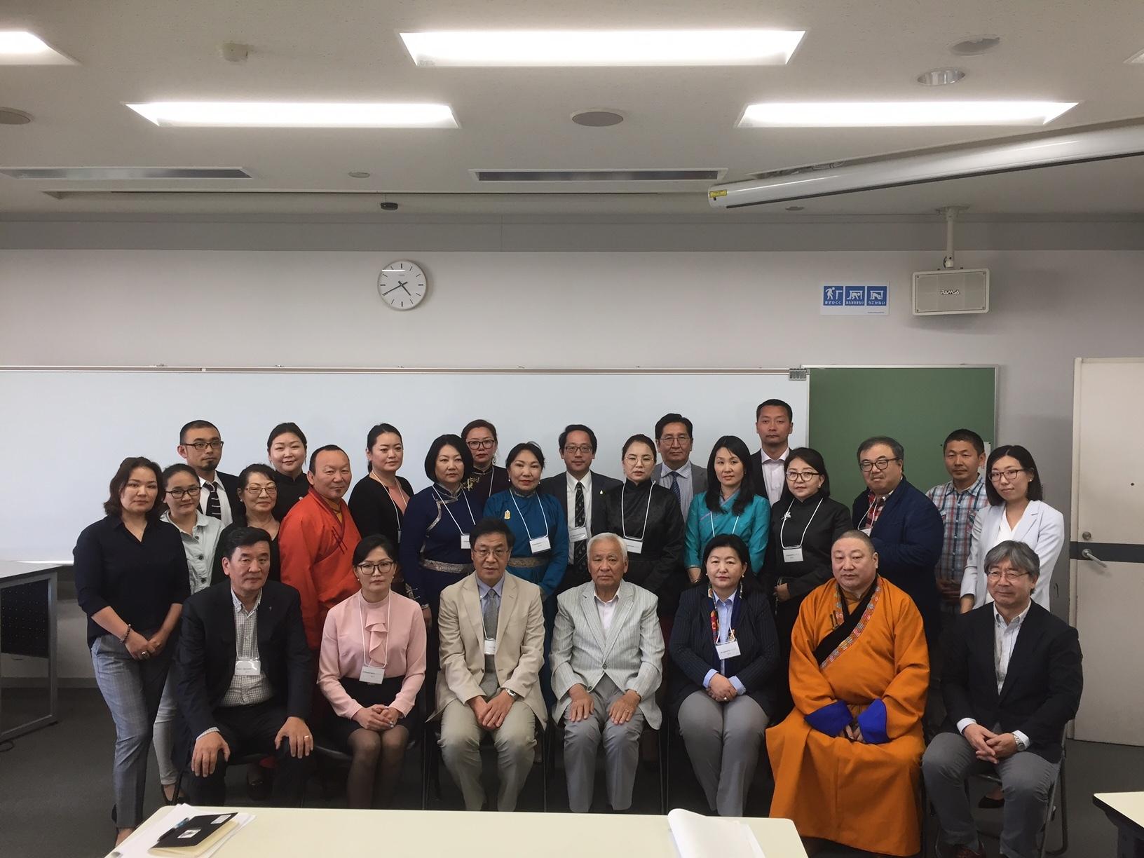 モンゴル社会言語学学術会議6