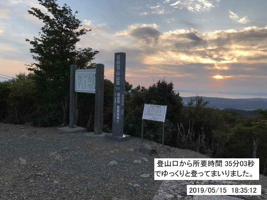 2019年5月15日夕方のお散歩