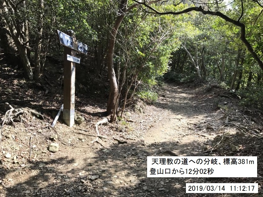 繁忙期が終わり、諭鶴羽山の駆け足登山を再開