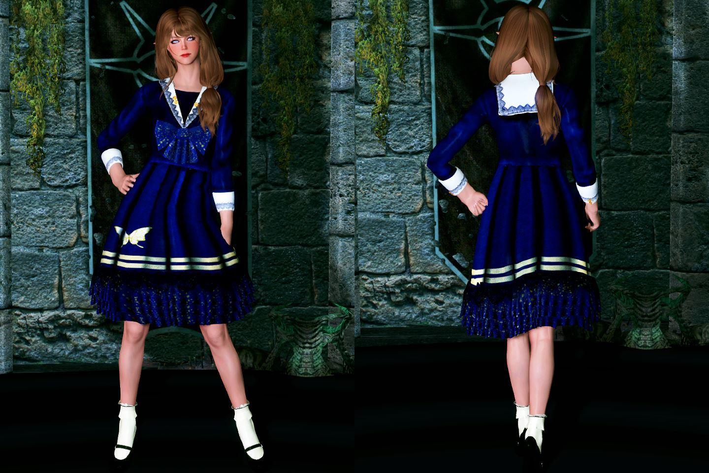 Skyrim LE]: Mod紹介 - Firine's Factory【Lolita Cloth】 - Skyrimめも