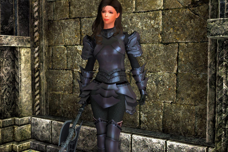 Skyrim se cbbe light armor