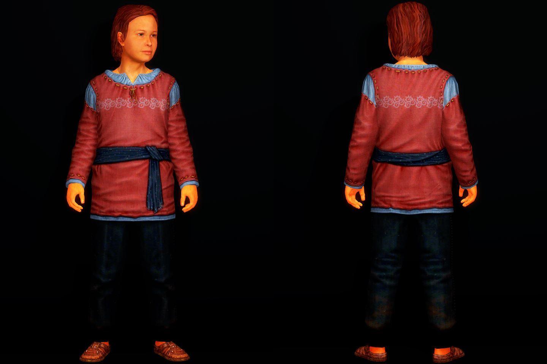 Skyrim SE / LE]: Mod紹介 - HQD Children Clothing Redraw - 防具 [紹介]