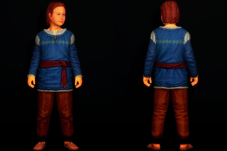 Skyrim SE / LE]: Mod紹介 - HQD Children Clothing Redraw