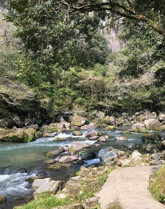 雄川の滝4