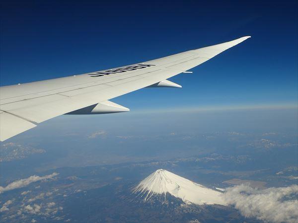 翼 富士山