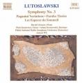 ルトスワフスキ交響曲3番ヴィト