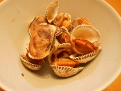 310228赤貝の煮つけ