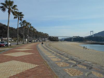 310309伯方島の砂浜