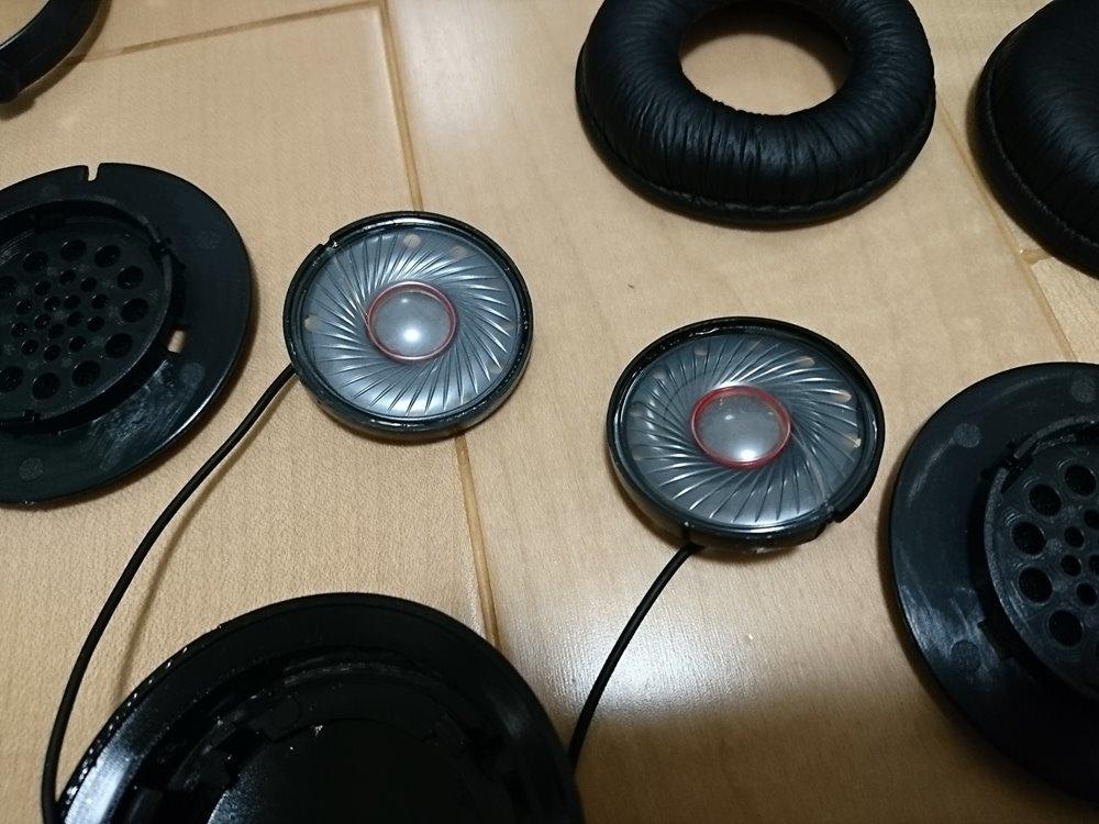 ヘッドホンを魔改造 AIC-070&HP-RX700