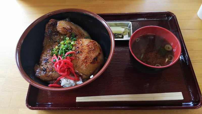 道の駅果樹公園あしがくぼ豚みそ丼201903