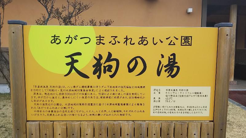 道の駅あがつま峡天狗の湯20190321