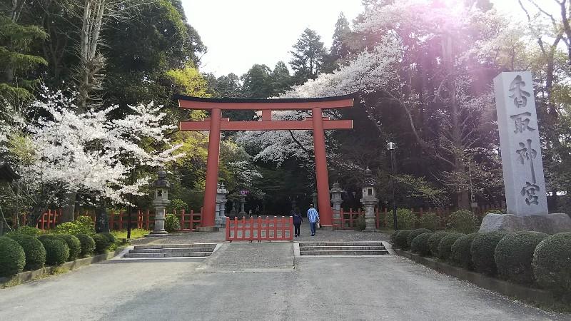 香取神宮鳥居201904