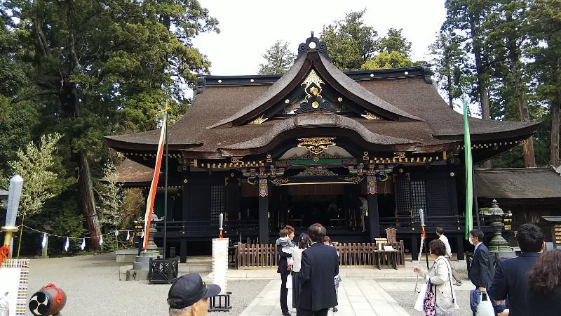 香取神宮拝殿201904
