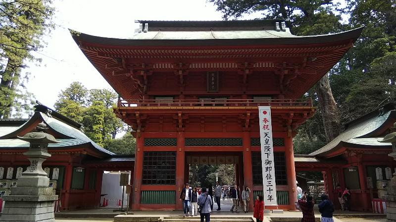 鹿島神宮桜門201904