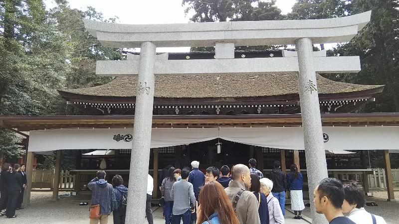 鹿島神宮拝殿・本殿201904