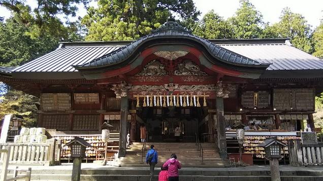 北口本宮富士浅間神社拝殿201904