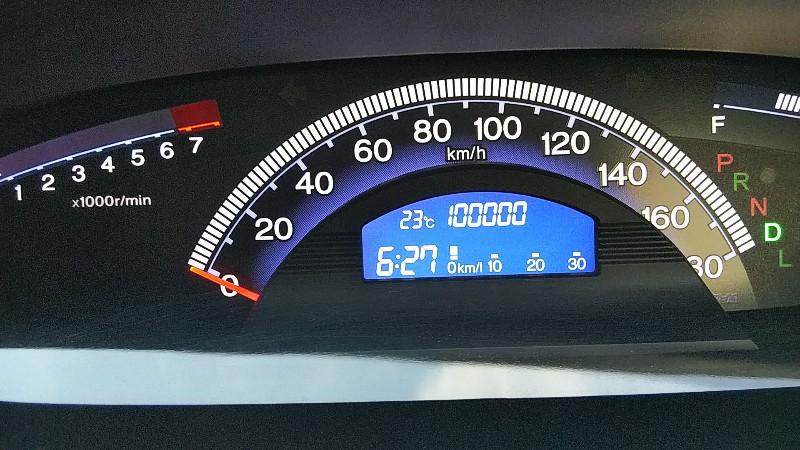 フリードスパイク100,000km