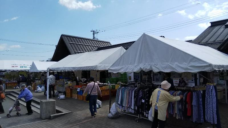 道の駅おおえテント201905