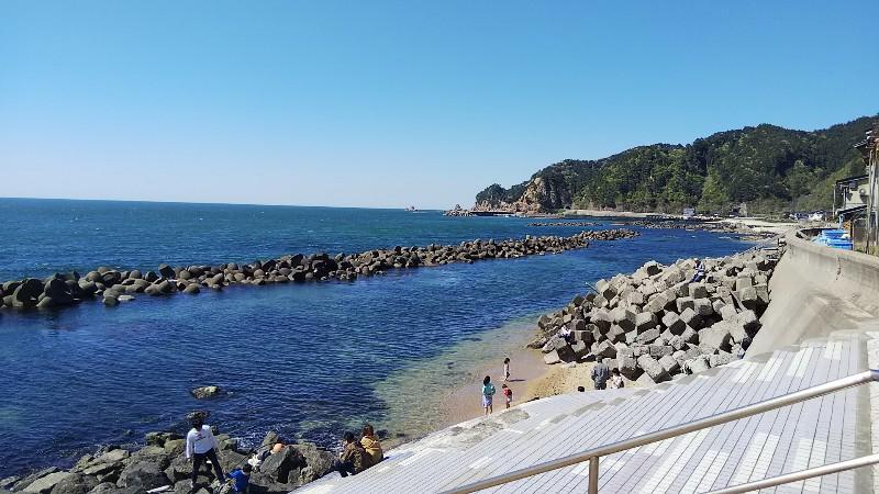 道の駅笹川流れ海・砂浜201905