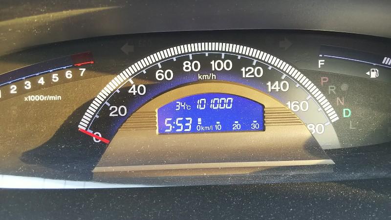 フリードスパイク101,000km