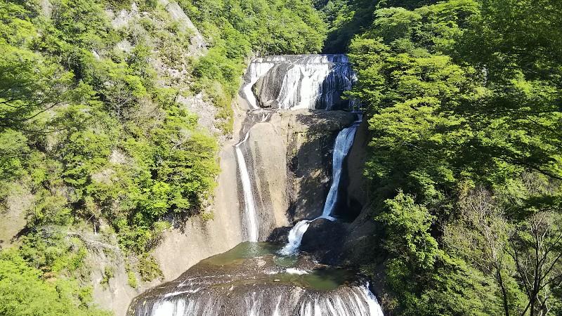 袋田の滝第1観瀑台201905