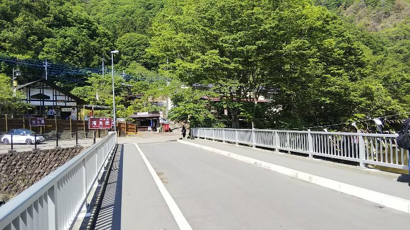 袋田の滝滝見橋201905