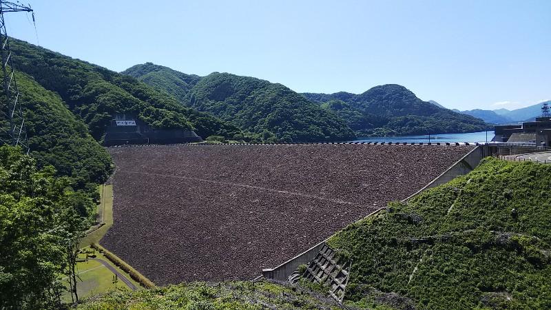 七ヶ宿ダム本体210906