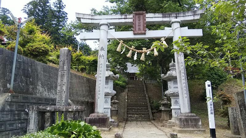 櫻田山神社201906