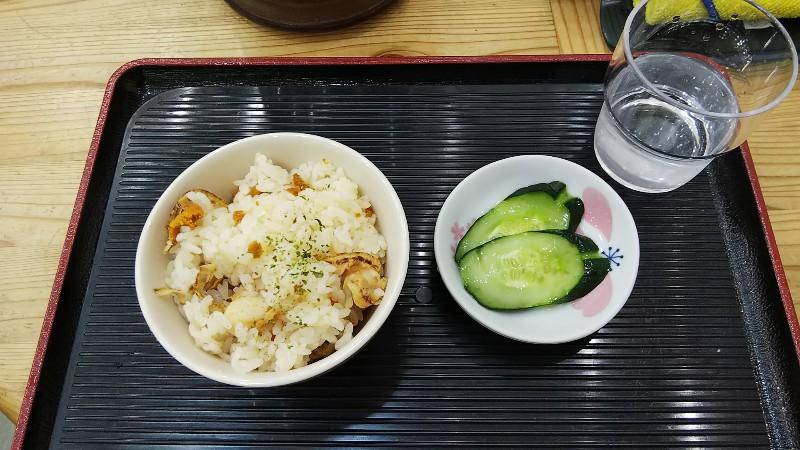 道の駅釜石仙人峠うにホタテご飯201906