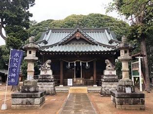 鶴峯八幡宮(茨城県古河市)