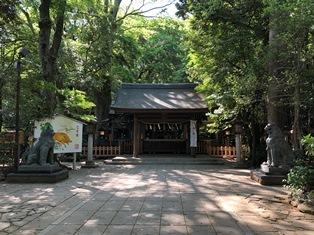諏訪神社(流山市駒木)