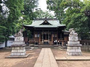 氷川神社(八雲氷川神社)