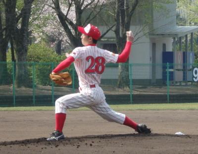 P4070660ドリームス先発藤本投手