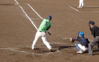 P5162075コスギ1死二塁から8番の代打が三ゴロで2死三塁