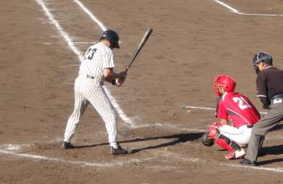 P6123816 次の5番が死球で完全試合の夢破れる ただ、一塁邪飛を捕っておれば
